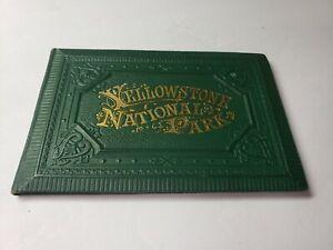 RARE 1883 YELLOWSTONE NATIONAL PARK SOUVENIR PHOTO BOOK