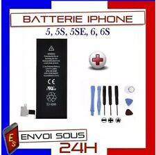 BATTERIE INTERNE NEUVE COMPATIBLE POUR IPHONE 5 5S 5SE 6 6S 0 CYLCE 100% Neuve