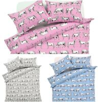 Luxury Horses Duvet Cover Bedding Set Quilt Covers Reversible Bed Sets Single