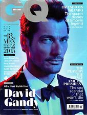 GQ UK October 2015 MEN OF THE YEAR ISSUE David Gandy EMILIA CLARKE Paul Rudd NEW