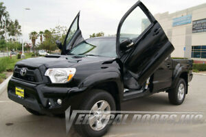 Vertical Doors Inc Bolt On Lambo Door Kits for Toyota Tacoma Truck 2005-2015
