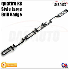 QUATTRO GRILLE BADGE NEW 2017 EMBLEM Audi s1 s3 s4 s5 rs rs3 rs4 rs5 rs6 sline b