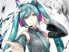 Vocaloid Hatsune Miku Anime A3 foto impresión de arte poster GZ6174