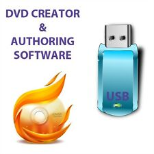 DVD CD Creator & authoring Burn AVI MPEG DVD format USB