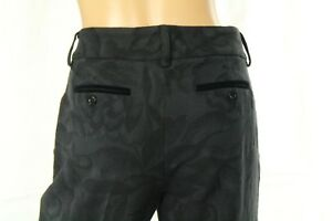 Ungaro Fever Women's Dress Black Pants Size 44 (8 US) Made In Italy