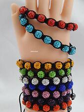 Unbranded Crystal Adjustable Costume Bracelets without Metal