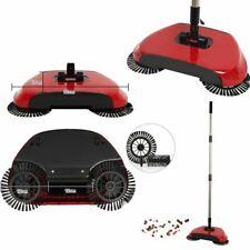 Spin Broom Scopa rotante Senza fili Contenitore Aspira polvere Pulizie casa