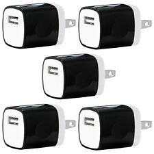 5x USB Wall Charger Power Adapter AC Home US Plug FOR Samsung LG iPhone 6 7 8 X