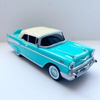 VINTAGE 57 CHEVY, Push Button Desk  Telephone, TEAL BLUEBEL AIR