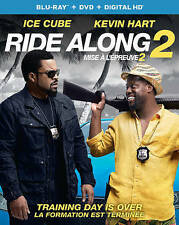 Ride Along 2 (Blu-ray/DVD, 2016, 2-Disc Set, Canadian)