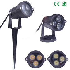 LED Landscape Lights Garden Yard Pathway Flood Spot Light Lighting IP65 6 Color