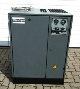ATLAS COPCO GA18 SP Schraubenkompressor   Bj. 2000   18,5 kW   44 l/s