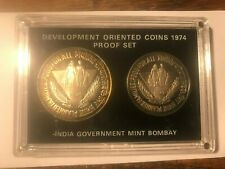 1974 Republic of India Development Oriented Coins Set #20389