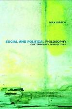 Social and Political Philosophy: Contemporary Perspectives by