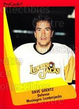 1990-91 ProCards AHL IHL #377 Dave Goertz