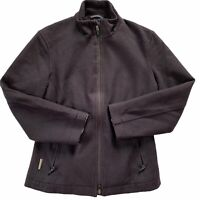 Icebreaker Coastal Womens Wool Jacket S Dark Purple Plum Small READ DESCRIPTION