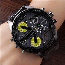 Men's Fashion Luxury Watch Stainless Steel Sport Analog Quartz Wristwatches #rd
