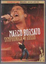 MARCO BORSATO Symponica In Rosso 2 DISC VERSION DVD & AUDIO CD