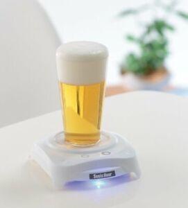 Brand new Sonic Hour Beer Foamer White