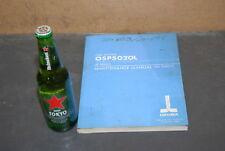 Okuma Cnc Syst.Osp5020L Lr series lathe Maintenance Manual;4th ed. Inv=23008