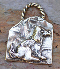 Artisan My Best Friend Dog Sterling Silver Pendant