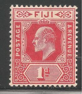Fiji #72 (A22) VF MINT LH - 1906 2p King Edward VII