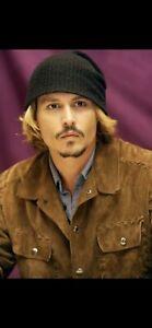 Dolce Gabbana Suede Leather Italy Whipstitch Western Jacket Johnny Depp L XL