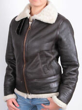 Leather Regular Size Shearling for Women