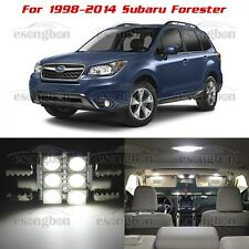 8pcs White SMD LED Lights Interior Package Kit For1998-2015 Subaru Forester