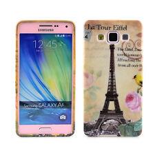 TPU Case f. Samsung Galaxy A5 (2015) Schutzhülle Tasche Cover Paris Eiffelturm