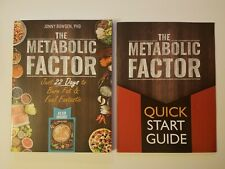 The Metabolic Factor + Quick Start Guide by Jonny Bowden (Paperback, 2018)