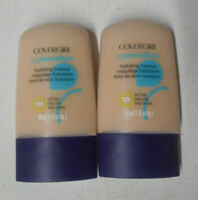 2 tube lot COVERGIRL CG SMOOTHERS HYDRATING LIQUID MAKEUP 725 BUFF BEIGE uns