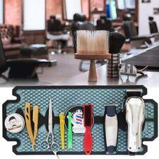 Barber Station Non Slip Mat Heat Resistant Scissors Combs Clippers Tools Pad