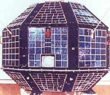 Aryabhata ISRO India Astrophysics Satellite Handcrafted Wood Model Large New