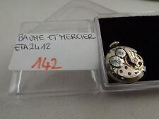 142  - Movimento baume Mercier eta 2412  running con dial sold for parts repair