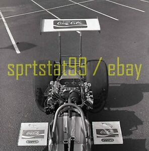 Tom McEwen Hot Wheels Mongoose Rear Engine Dragster - Vintage Race Negative