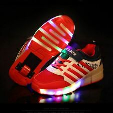 Casual Kids Roller Skate Shoes Children Glowing Girls Boys Sneakers With Wheels