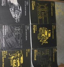 1973 Ford MUSTANG Lincoln Mercury ALL CARS Service Shop Repair Manual SET 5 VOL