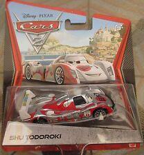 Disney Pixar Cars 2 Chrome Silver Shu Todoroki Diecast Xmas Present Gift Special