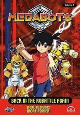Medabots Vol. 7: Back in the Robattle Again (DVD, 2003) #161