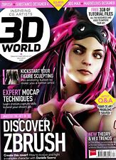 3D WORLD #180 4/2014 ZBRUSH New Theory & VFX Trends EXPERT MOCAP TECHNIQUES @New