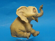 RARE 60s GUIDO CACCIAPUOTI by SILVIO RIGHETTO WHIMSICAL ELEPHANT FIGURINE *ITALY