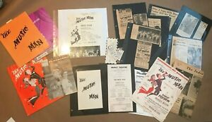 Original The Music Man Program Forrest Tucker Autograph Signed photo