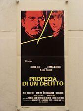 PROFEZIA DI UN DELITTO drammatico regia Claude Chabrol locandina orig. 1975