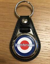 Lambretta Logo Medallion Keyring, Brand New