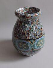 Vallauris. Gerbino. Vase boule en céramique à décor de mosaïques, XXe siècle