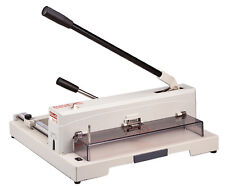 "Guillotine 14.5"" Heavy Duty Manual Paper Trimmer Table Top Cutter KWTrio 3943"
