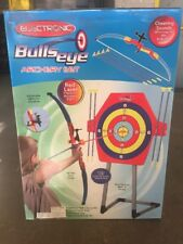 BULLSEYE ARCHERY SET WITH STAND AND RED LASER (precision accuracy sight