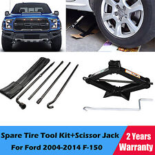 For 2004-2014 Ford F150 Wheel Tire Lug Wrench Spanner Tool Kit&2Ton Lifting Jack