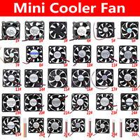 5V/12V/15V/24V Mini 2-4Pin PC Computer Connector Cooling Fan Radiator Cooler Fan